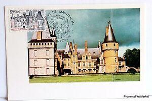 Yt 2082 Chateau De Maintenon France Carte Maximum 1° Jour Fcp