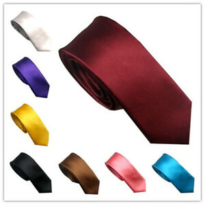 LAMMULIN New Ties Square Vertical Stripes Necktie Matte Design Skinny Tie 6cm