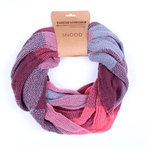 Patrimoine traditions Womens Fashion Outdoor Summer Rose Gris Léger Snood
