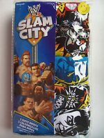 Wrestling Slam City Underwear Boys 5 Brief Pack Character Sayings Sz 4 6 8 Nip