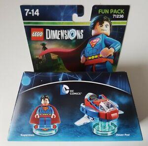 Lego-Dimensions-Superman-Hover-Pod-DC-Comics-Fun-Pack-71236-New-amp-Boxed