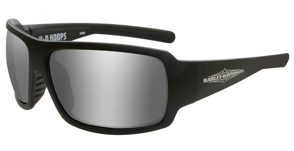 Harley-Davidson Women's Hoops H-D Sunglasses, Gray Silver Flash Lenses HAHPS02