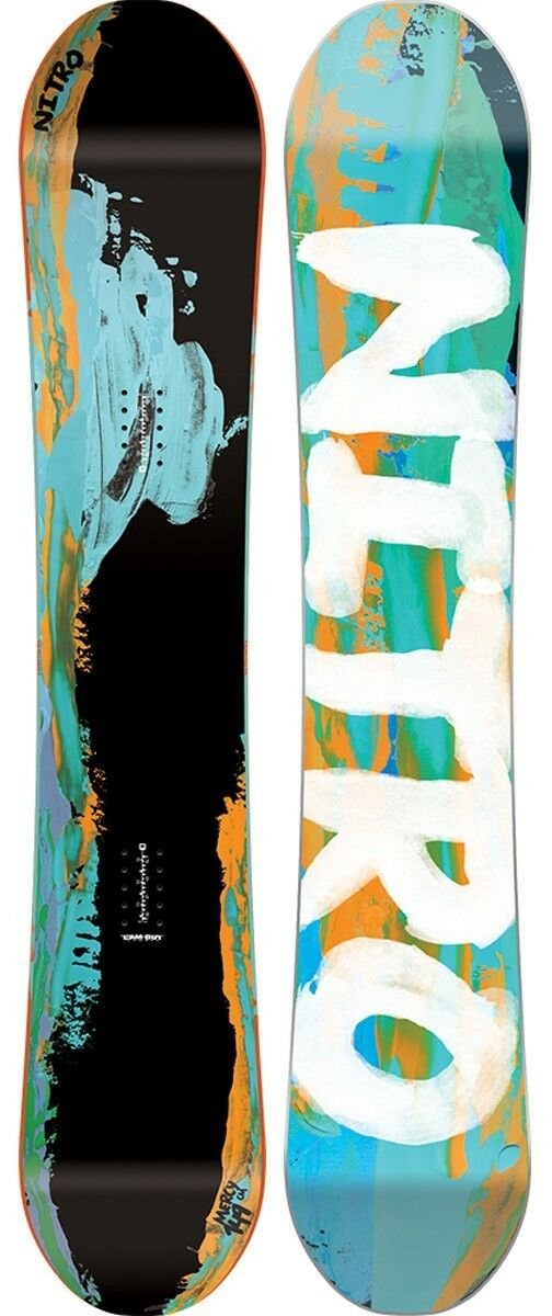 New 2016 Nitro Mercy Snowboard 149 cm Cam-Out Camber