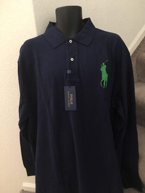 f3919adaea215d Polo Ralph Lauren Men's Big & Tall Classic Fit Cotton Mesh Polo Shirt ...