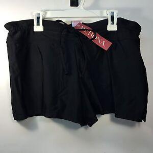 NEW-Merona-Women-039-s-Swim-BoardShort-Black