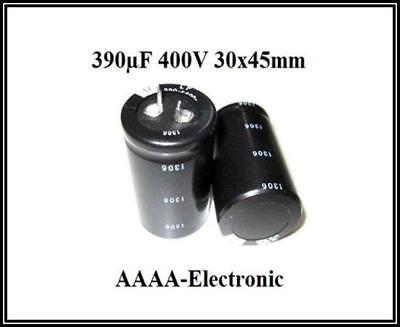 ELKO Kondensator LSG 820µF 400V 105° 20/% 35x55mm RM 10mm Snap-in 1 Stück