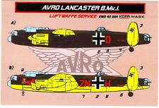 KORA Models PAINT MASKS 1/48 AVRO LANCASTER B.Mk.I IN LUFTWAFFE SERVICE