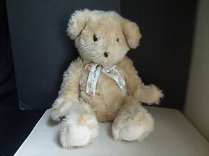 FAO Schwarz Teddy Bear Stuffed Animal Toy Logo Ribbon Fifth Avenue NYC New York