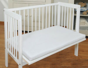 Baby Bedside Co Sleeping Cot Bed Side By Side With Free