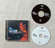 """TALL PAUL """"MIXED LIVE 2ND SESSION: CLUB SPACE MIAMI""""13T CD COMPILATION +DVD 2003"""