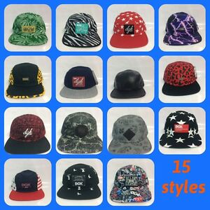 35a89470116e1 Genuine DGK Sample 5 panel Snapback caps 15 styles new without tags ...
