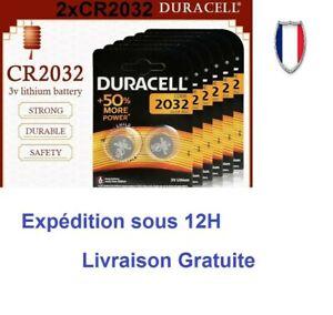 2xPiles  DURACELL/PANASONIC /SONY CR2032/CR2016/CR2025