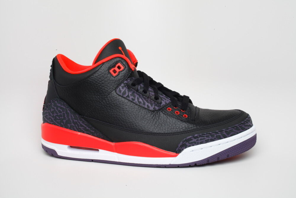 Nike Air Jordan 3 III Crimson Black 136064 005 Air Max sz 10