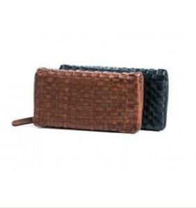 Rugged Hide Lisbon Woven Wallet Ebay
