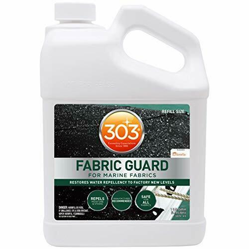 Water Repellent Fabric Predectant Great for Boat Cover & Congreenible Top (128oz)