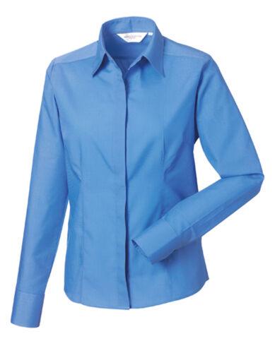 Damen Bluse Businessbluse Popeline Kurzarm XS S M L XL 2XL 3XL 4XL Ökotex
