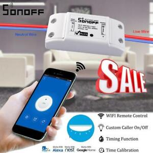 Sonoff Smart Home WiFi Wireless Switch Module For Apple Android APP Control UK