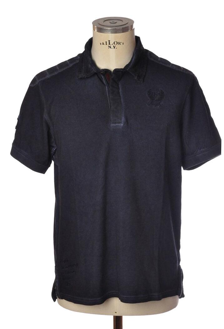 Italian Rugby Style   -  Polo - Männchen - azul - 319427A184448  tienda en linea