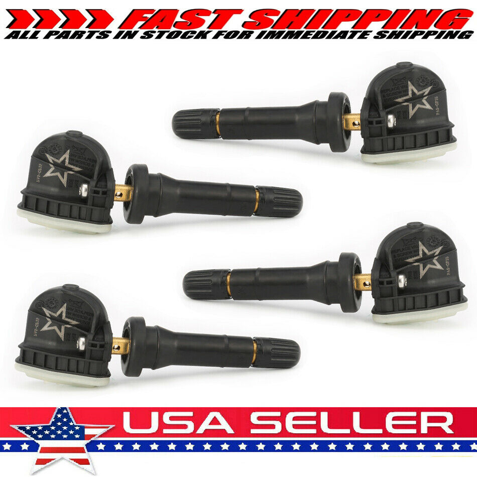 4pc GM Original Equipment ACDELCO TPMS For Chevy GMC Buick 315MHz 13586335