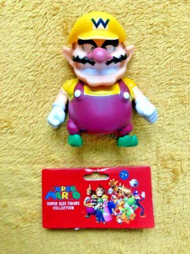 "Wario Super Mario 5/"" Action Figure NEW /& SEALED"