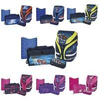 Herlitz Grundschulrucksack Set Motion Plus 4 Teile , Schultasche Schulranzen