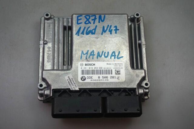 BMW Series 1 3 E81 E87 LCI E90 N47 Diesel ECU Dde Unidad de Control Del Motor
