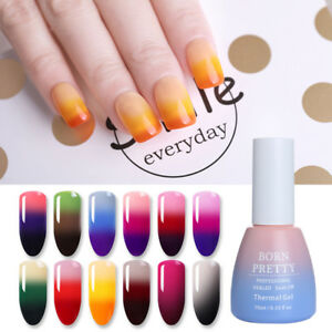 BORN-PRETTY-Thermal-3-layers-Gel-Polish-Colour-Changing-Nail-Soak-Off-Gel