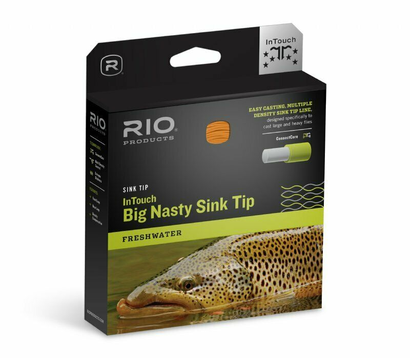 RIO InTouch Big Nasty 4D Sink Tip FIS3S5  WF8FIS3S5  New