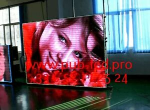 Enseigne Lumineuse LED Écran interne publicitaire P2 programmable
