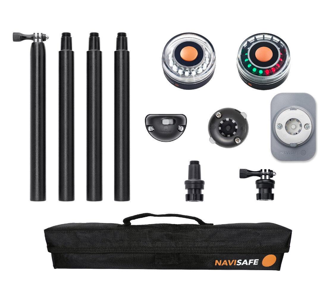 LED Navigationsleuchte, Komplett-Set für SchlauchStiefele, Navisafe 767 -  NEU 769