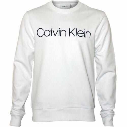 hommesblanc Sweat en Klein logo pour jersey avec col rond Calvin à 45jLAR