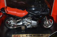Rare Vintage BMW R1100 Maisto 1:18 Black/Red Item #39307