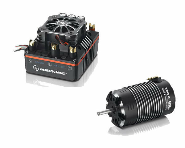Hobbywing Xecorrere Combo XR8-Plus  150A + 4268SD G2 1900kV 1 8 On Offstrada modellololismo  salutare
