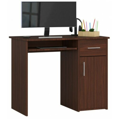 Schreibtisch Nuo Computertisch Möbel Viele Farben Tisch 90cm Weiß Sonoma 25