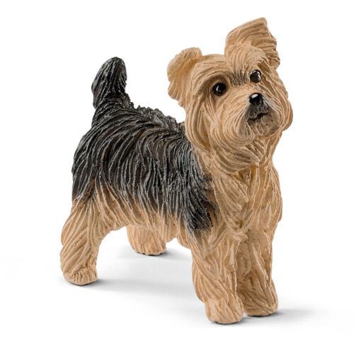 SCHLEICH Farm World Yorkshire Terrier Toy Figure 13876