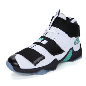 brand new 3dba0 71b79 Image is loading A-Men-039-s-Basketball-Shoes-Boots-Super-