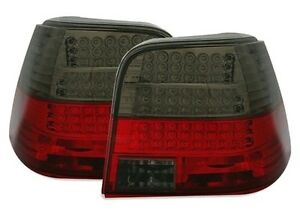 LUCI-POSTERIORI-LED-NERO-ROSSO-CRISTAL-GOLF-4-97-03-WEMBLEY-MATCH-1-2-COMFORT
