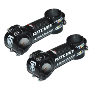 Ritchey WCS MTB Road Bike Stem 3K Carbon Cover Aluminum 6//17degree Bicycle Stems