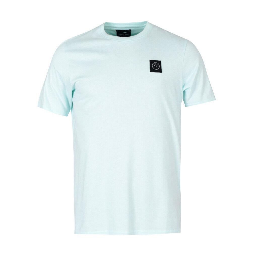 40% OFF Neu Herren Marshall Artist Aqua Blau Sirene T-Shirt