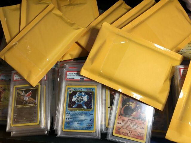 1x Pokemon Mystery PSA Graded WotC Vintage Card! Chance Of Getting A Charizard!