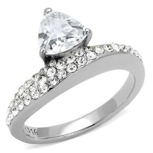 3207-TRILLION-PAVE-SIMULATED-DIAMOND-RING-CLEAR-STAINLESS-STEEL-NO-TARNISH