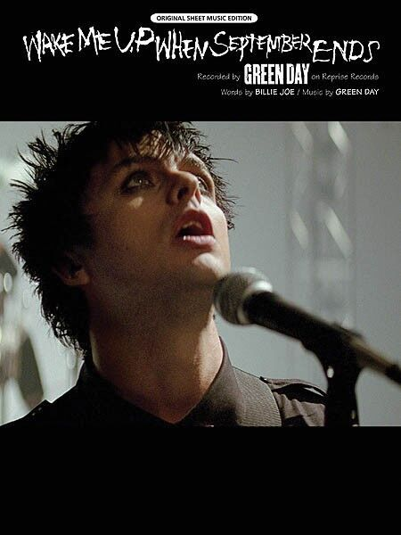 Wake Me up When September Ends by Green Day Piano Sheet Music Guitar ...