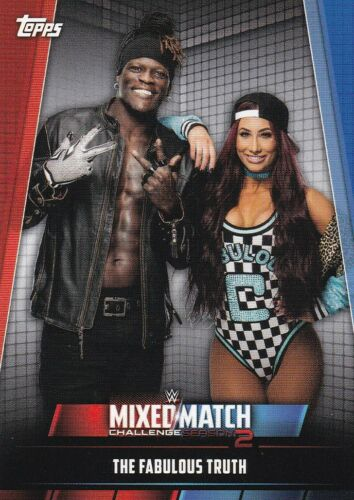 Mixed//Match #MMC-9 The Fabulous Truth 2019 Topps WWE Women/'s Division