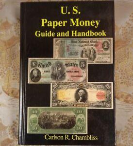 U-S-PAPER-MONEY-GUIDE-AND-HANDBOOK-Carlson-R-Chambliss