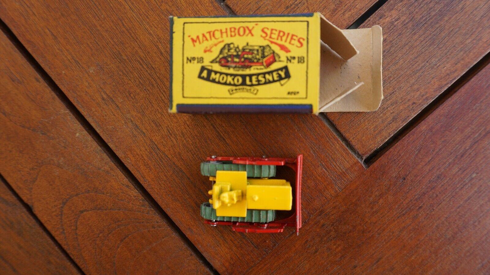 Planierraupe - - - Matchbox Nr. 18 (Moko Lesney) 7bd9c8