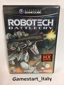 ROBOTECH-BATTLECRY-NINTENDO-GAME-CUBE-GC-NEW-SEALED-PAL-VERSION-VIDEOGAMES