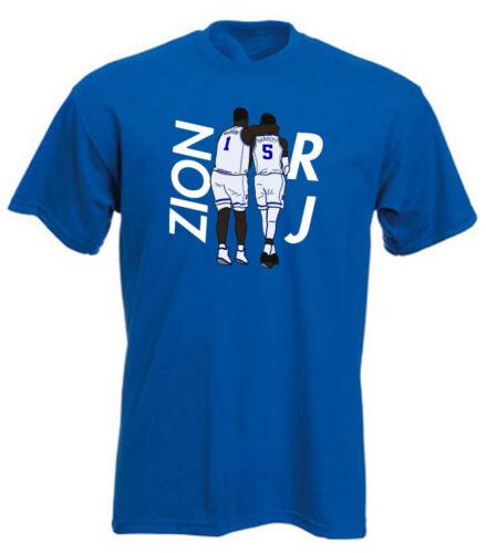 RJ Barrett Zion Williamson Duke Blue Devils PICTURE T-Shirt