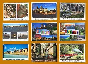 Victoria-Melbourne-9-Australian-Made-Postcard