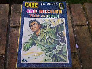 CHOC-recueil-n-2-DE-1983-contenant-CHOC-ET-Le-manoir-des-fantomes-comme-neuf
