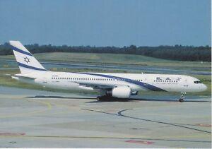 EL AL (ISRAEL) - BOEING B757-258 ER - 4X-EBV - HAMBURG - 06/2000 - POSTCARD - France - État : Neuf: Objet neuf et intact, n'ayant jamais servi, non ouvert. Consulter l'annonce du vendeur pour avoir plus de détails. ... Compagnie aérienne: El Al Sous-thme: Aviation Nombre de pices: 1 Qualité: Neuf Pays: Israël Caractéristiques - France